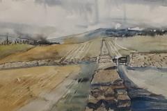 Birdoswald, Hazel Barron-Cooper, Watercolour, 60cms x 52cms, £180, HBC18