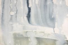 Rain Curve, Hazel Barron-Cooper, Watercolour, 31cms x 24cms, £120, HBC23