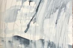 Rain Storm, Hazel Barron-Cooper, Watercolour, 76cms x 28 cms, £120, HBC22