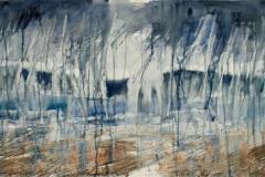 Sky Squall, Hazel Barron-Cooper, Watercolour, 65cms x 160cms, £750, HBC1