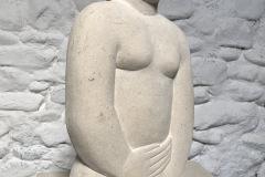 Figure, Ancaster stone, 39x20x10cm, £1300, RB10
