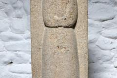 Gritstone angel, Pennine gritstone, 52x23x11cm, £1200, RB6