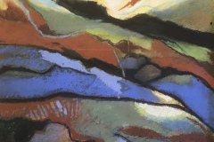 Cloud Shadows Hills - Type: Pastel, white frame, glass - Size: 385x310 including frames - Ref: ART25J/F - Cost: £112 Gallery, £38 Foodbank