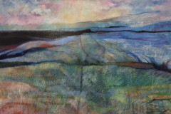 Title: Long Walk - Type: Mixed media, box canvas - Size: 910x610 no frame - Ref: ART9J/F - Cost: £375 Gallery, £125 Foodbank