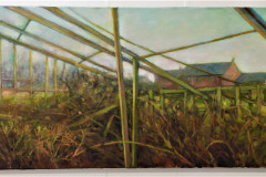 14. Old Greenhouse - Elizabeth Talbot - Type: Oil on Canvas - Size: 1000x400mm - Cost: £320
