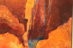 16. Canyon III - Mary Hayward - Type: Mixed media, Box Canvas - Size: 510x410mm - Cost: £285