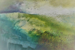 26. Clearing Sky - Glynnis Carter - Type: Mixed media, Box Canvas - Size: 500x500mm - Cost: £450