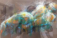37. Torso Study - Sue Malkin - Type: Pastels - Size: 530x430mm - Cost: £295