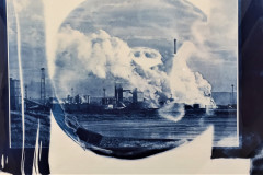 6. Lakenby - George Unthank - Type: Giclee Print, Cyanotype - Size: 540x440mm - Cost: £150
