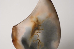 Facetted-Arrowhead-Form-Smoke-fired-stoneware-Approx-32-cm-high
